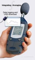 SOUND LEVEL METER WITH DATA LOGGING INTEGRATING  .